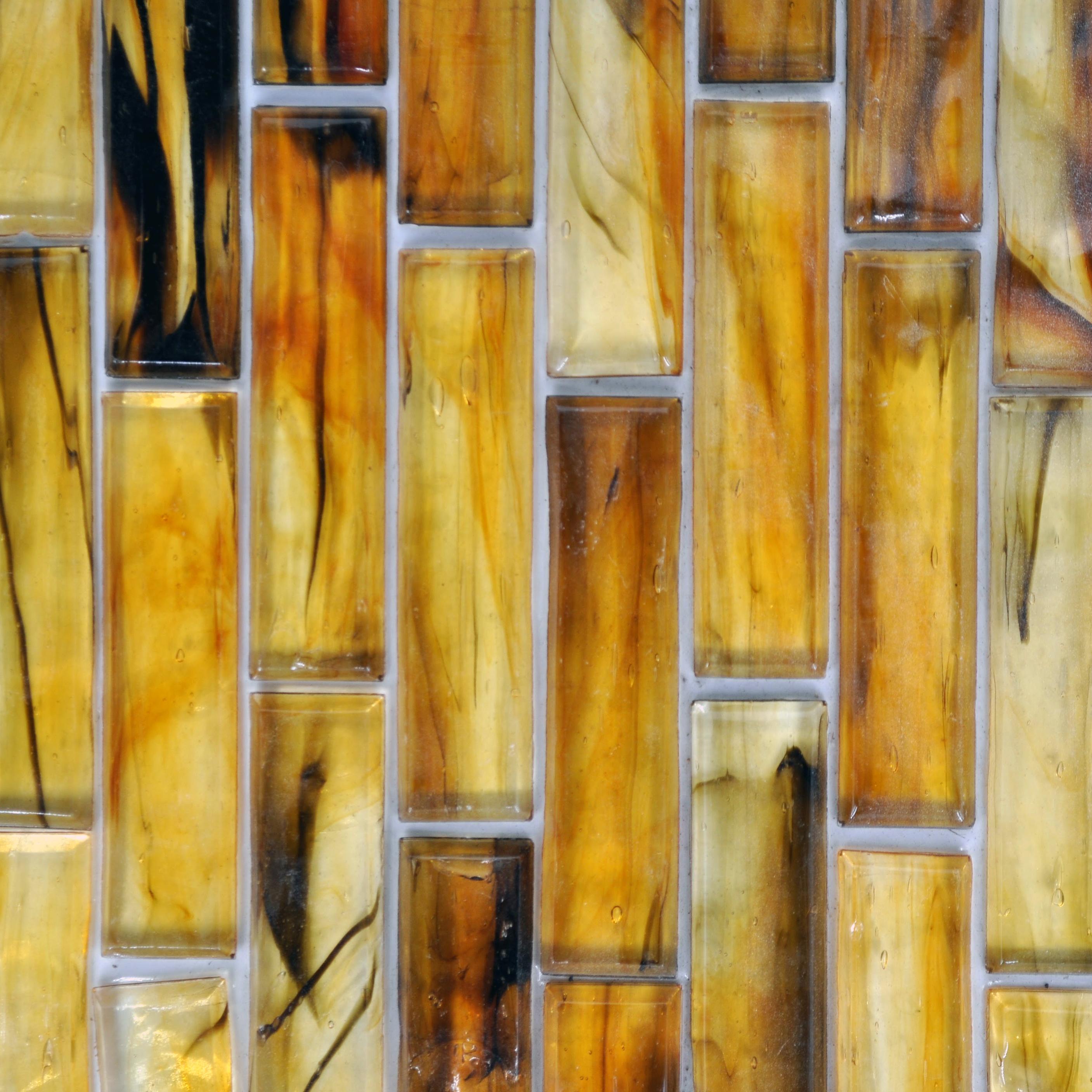 Fusion glass autumn07s 1 x 4 linear strips bella casa for Bella casa tiles
