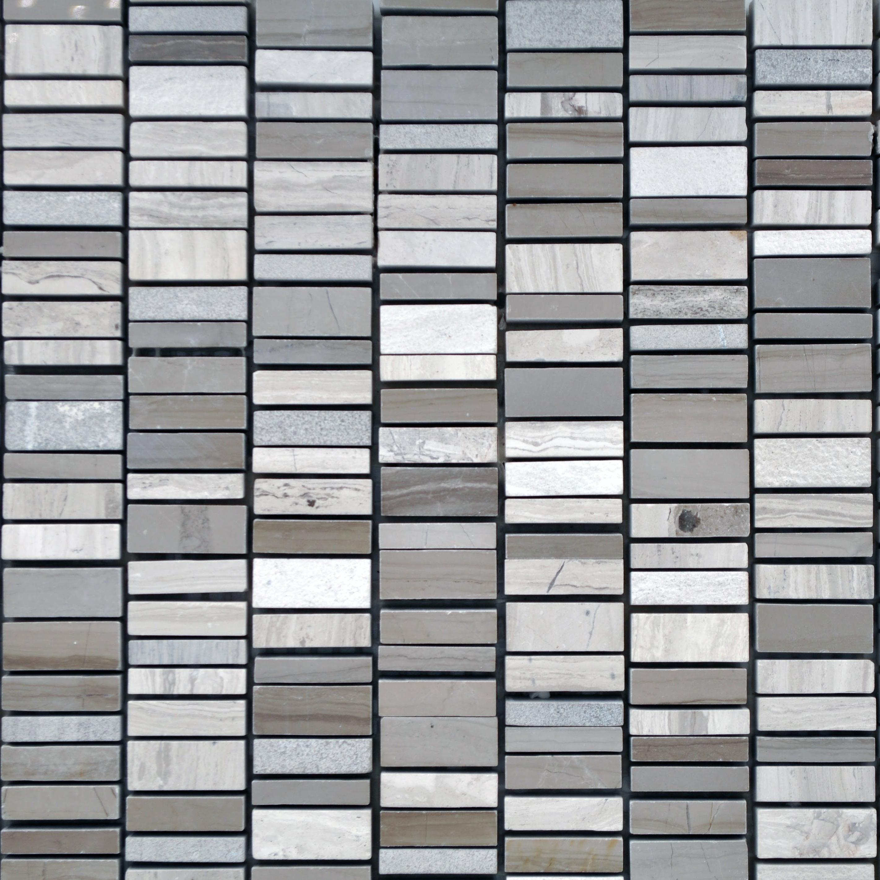 Vertical wood vein grey bella casa tile collection for Bella casa tiles