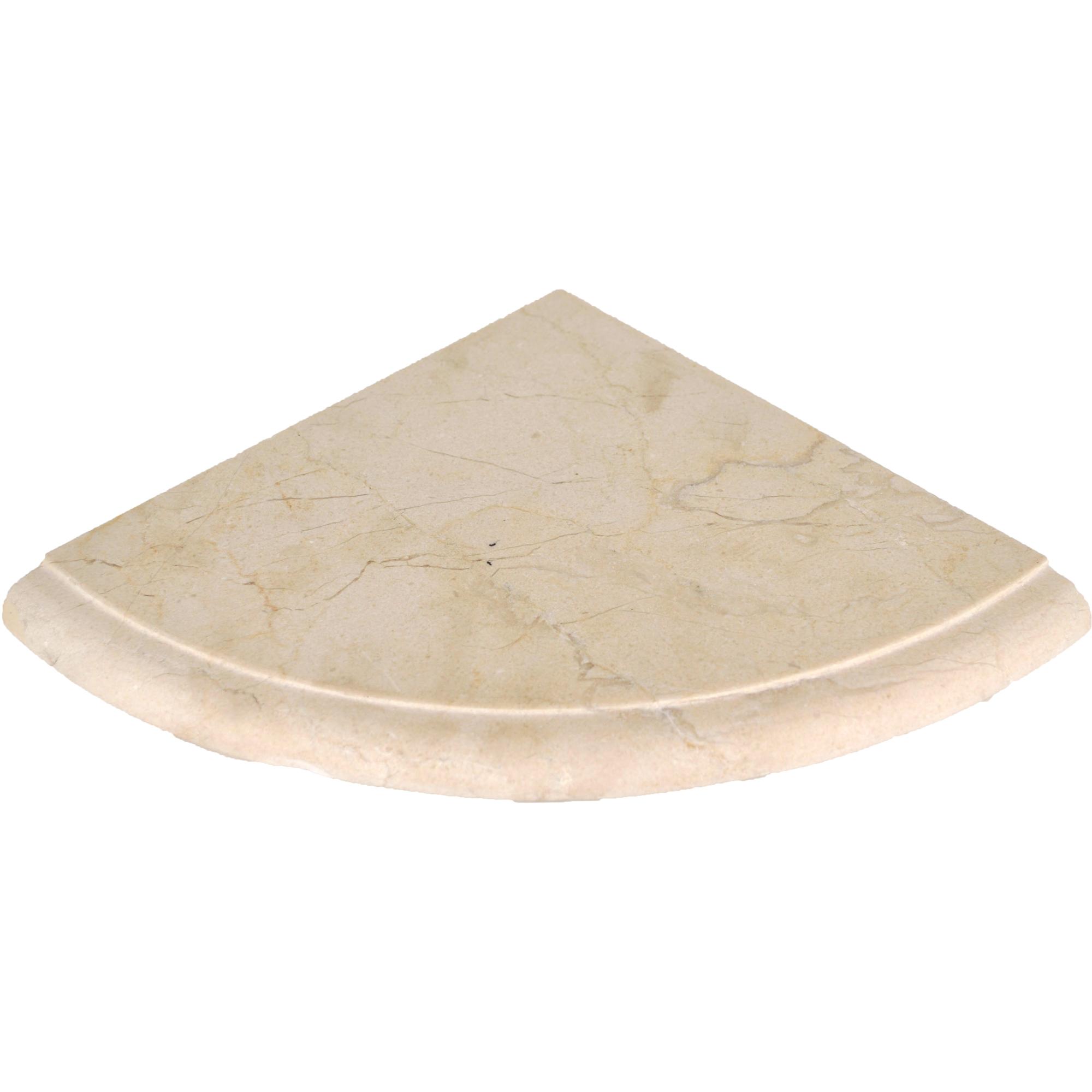 Shower shelves crema marfil honed 8 x 8 honed bella casa for Bella casa tiles