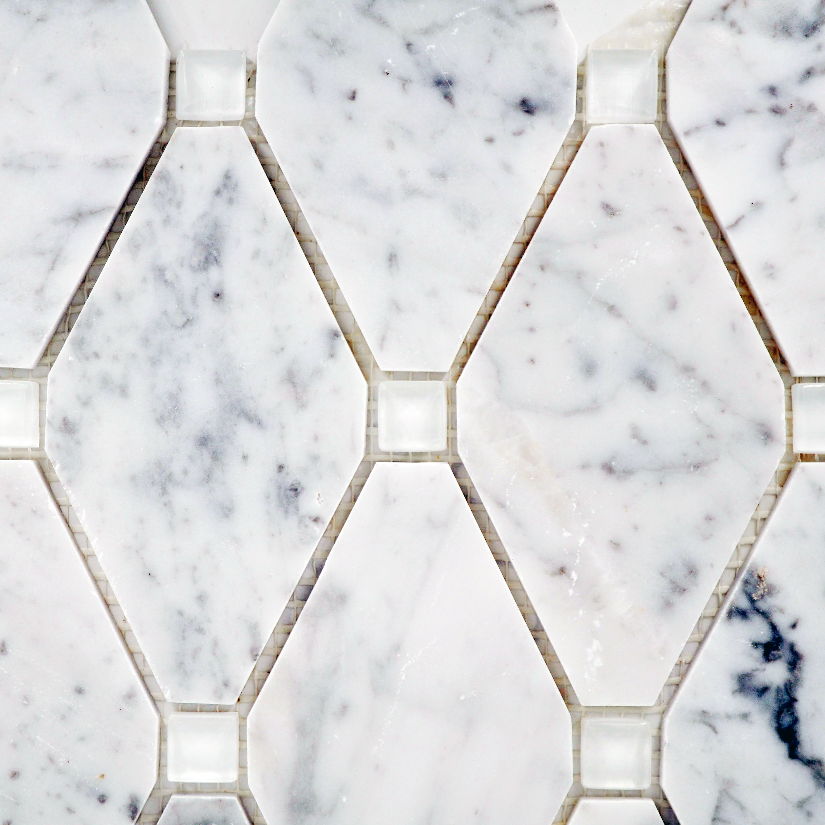 Bella casa tile collection wholesale tile supply and manufacture abigail stone glass carrara white glass tyukafo