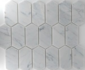 Elongated Hex Bella Casa Tile Collection