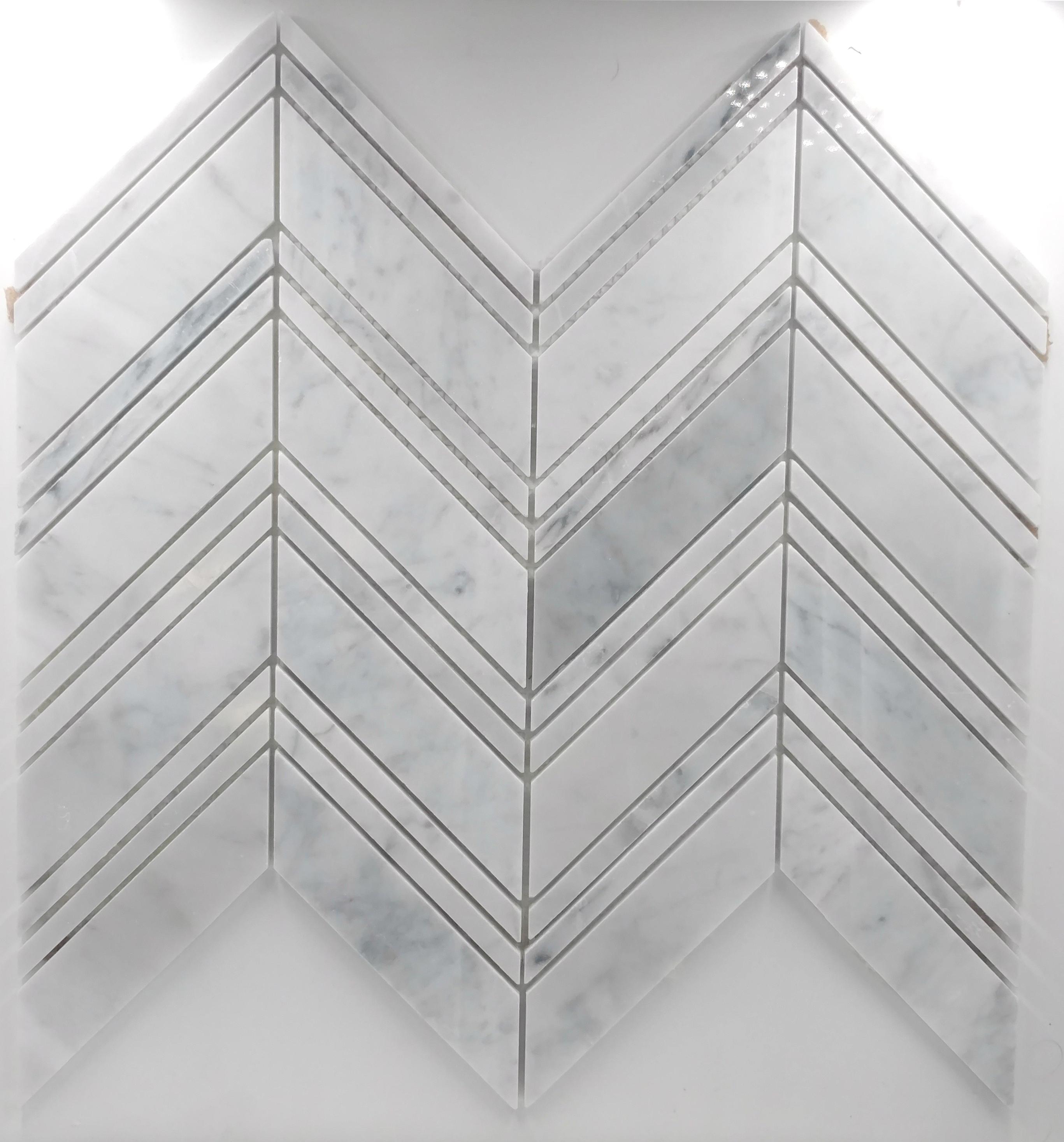 Peak and valley carrara bella casa tile collection for Bella casa tiles